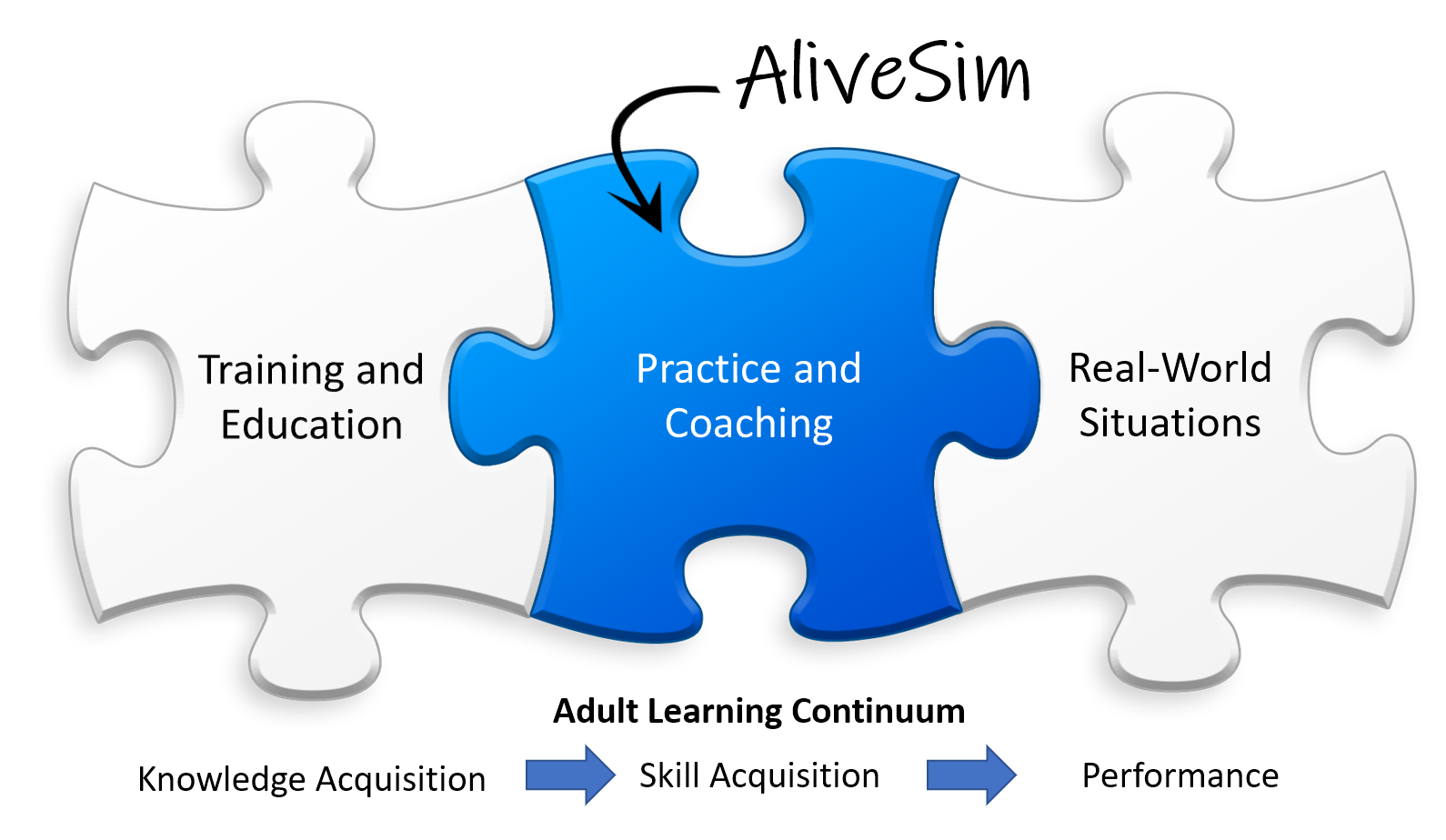 How practice and coaching is the missing between training and real-world performance