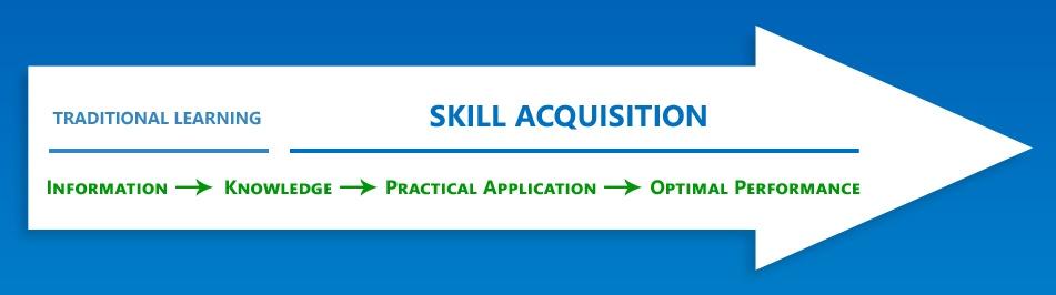Skill acquisition arrow