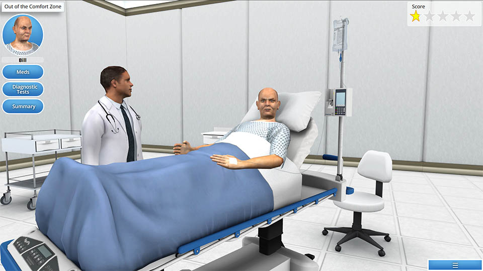AliveSim - Virtual Patient and Physician Interaction