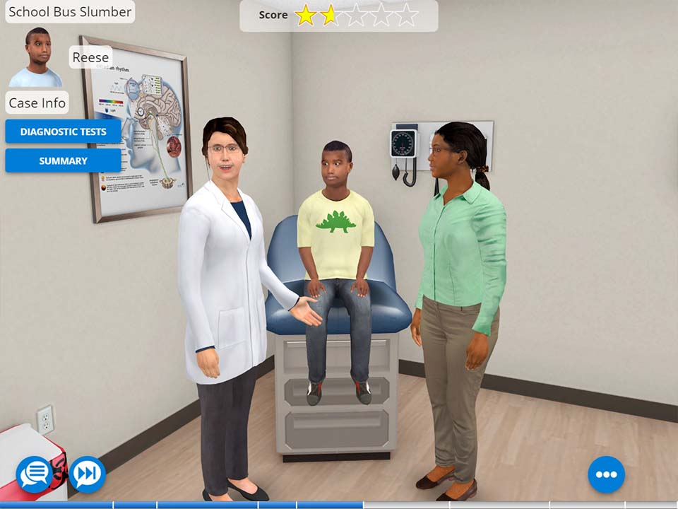 AliveSim Medical Simulation - Virtual Physician and Patient