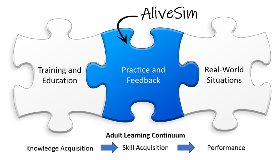 Practice and Feedback is the missing piece between education and real-world performance